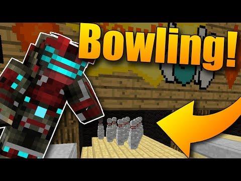 Nová minihra! Bowling v Minecraftu!