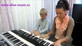 """А.Рыбников - """"Последняя поэма"""", фортепиано в 4 руки+фонограмма"""