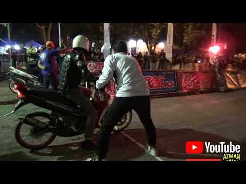 PART 4 YAMAHA 125 STD BODY Drag Racing Kubang Menerong
