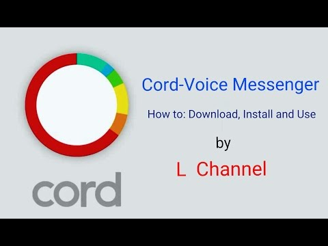 Cord - Voice Messenger App Review for Android Phones