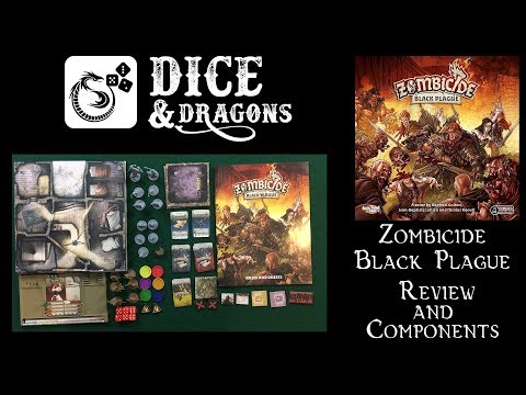Dice and Dragons - Zombicide Black Plague Review