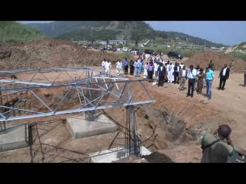 Minister Of Power Raji Fashola Visits Kashimbila Multi-Purpose Dam