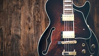 Mellow Bluesy Groove | Guitar Backing Track Jam in A