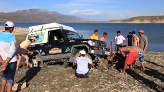 Plantage 4x4 - Car stuck in the mud - Kyrgyzstan