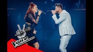 De vonken vliegen er vanaf tussen Natalia en Bert | Finale | The Voice van Vlaanderen | VTM