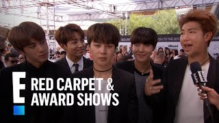 Korean-Pop Boy Band BTS Hit the 2017 Billboard Music Awards | E! Live from the Red Carpet