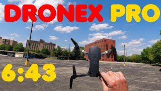 DroneX Pro Battery Test 6:43 no App no Video