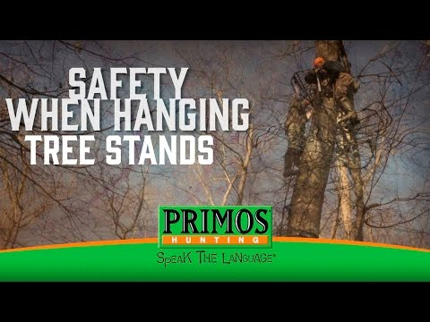 Importance of Safety when Hanging Treestands video thumbnail