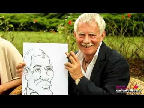 Caricaturista Zazou, tradizionale o in digitale video preview