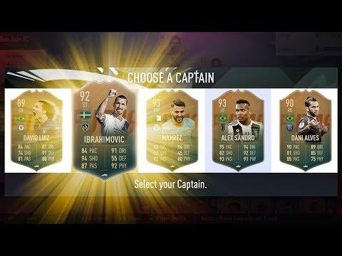 BEST POSSIBLE FLASHBACK FUT DRAFT CHALLENGE! - FIFA 19 Ultimate Team