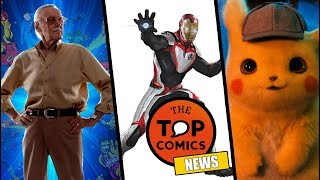 Adiós Stan Lee I Trajes blancos Avengers 4 I Detective Pikachu
