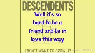 Descendents - In Love This Way (Lyrics On Screen)