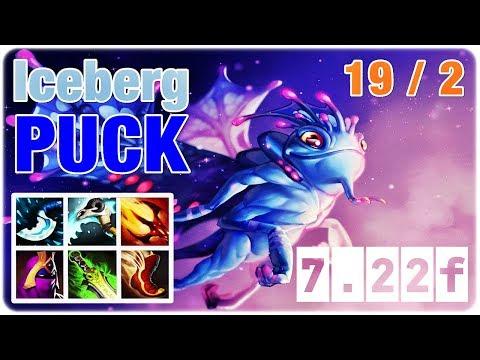 PUCK Insane Gameplay | Iceberg Puck Dota 2 Pro Gameplay