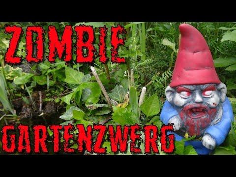 """""""ZOMBIE GARTENZWERG"""" -Vorstellung"""