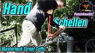 1 - 2 - Polizei  - Handschellen Fahrradschloss - vitbikesTV