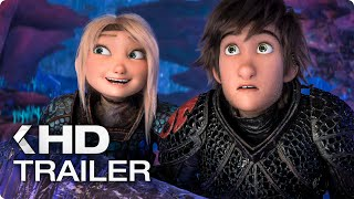 HOW TO TRAIN YOUR DRAGON 3 All Clips & Trailers (2019)