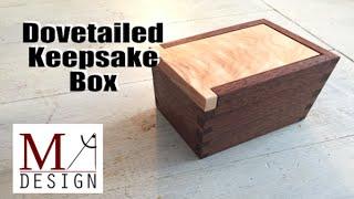 Dovetailed Keepsake Box - 044