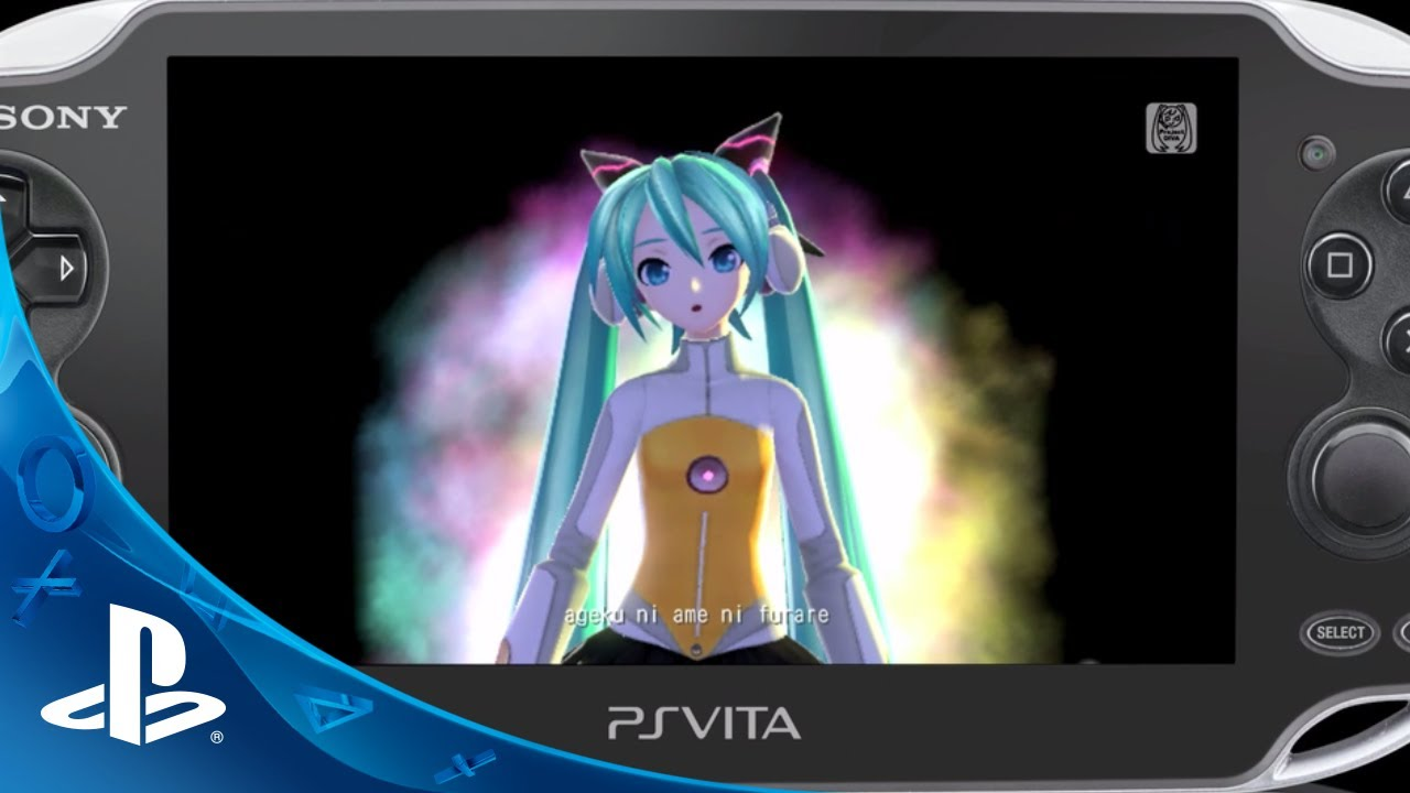 Hatsune Miku: Project Diva f Comes to PS  Vita Today