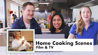 Pro Chefs Review Home Chefs From Movies and TV | Test Kitchen Talks | Bon Appétit