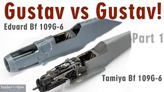 Gustav vs Gustav! Out Of The Box Build Comprasion of the Tamiya and Eduard Bf 109 G-6