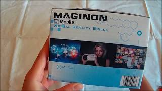 Maginon mobile Virtual Reality Brille Unboxing/Review Deutsch