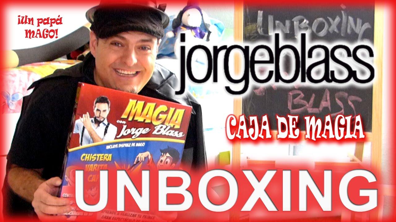 UNBOXING | JORGE BLASS | CAJA DE MAGIA | SORTEO | Trucos de Magia