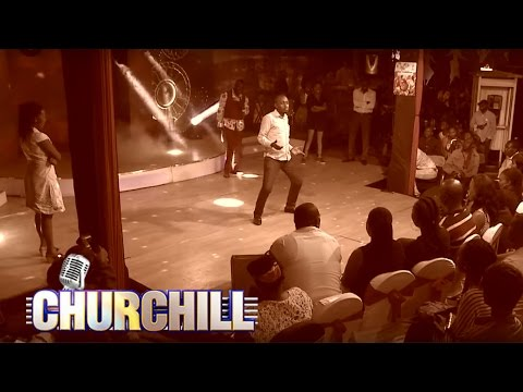 Churchill Show audience lingala Dance off
