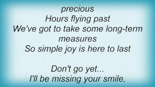 Basia - Simple Pleasure Lyrics