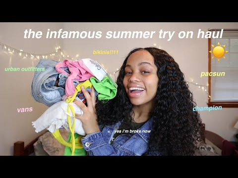 HUGE summer try on haul (almost put my bank account in overdrawn for this)