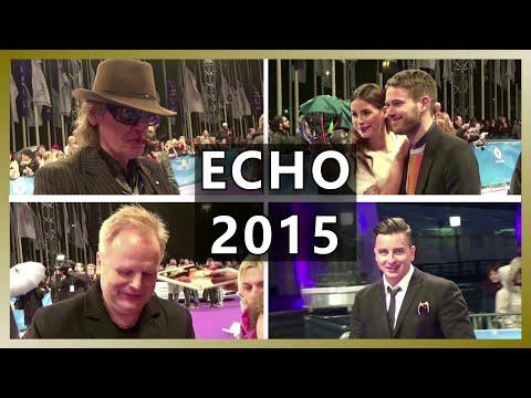 ECHO 2015 in Berlin // Stars auf dem Lila Teppich