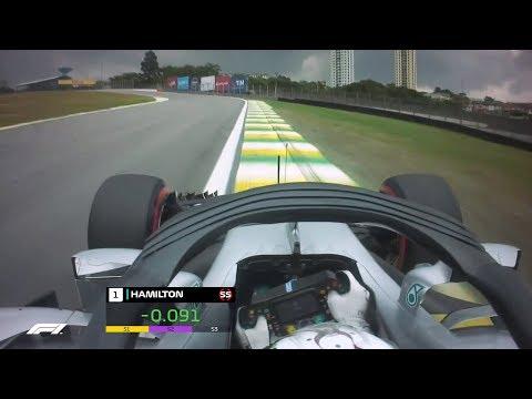 Lewis Hamilton's Pole Lap | 2018 Brazilian Grand Prix
