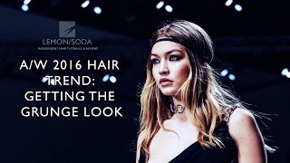 2016 A/W Trends: The Grunge Look