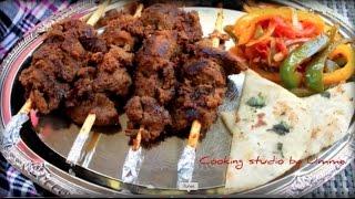 চুলায় তৈরি শিক কাবাব    Bangladeshi Sheek Kabab    How To Make Bangladeshi Sheek Kabab   shikh kabab