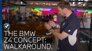 The BMW Concept Z4 walk around at Goodwood Festival of Speed