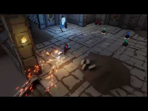 Swordcery : Swordcery Father Johannes Attack by Temple Door Games