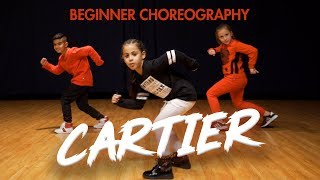 Dopebwoy   Cartier Ft. Chivv & 3robi (Dance Video) Easy Kids Choreography | MihranTV