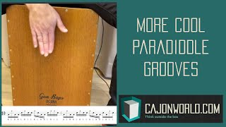 More Cool 16th Note Paradiddle Grooves