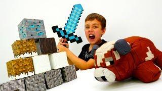 Секреты игры Майнкрафт - Ночная оборона лагеря Minecraft.