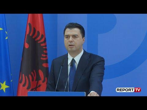 Report TV - Basha: Rama të bëjë si Zaev i, është koha për një qeveri të re