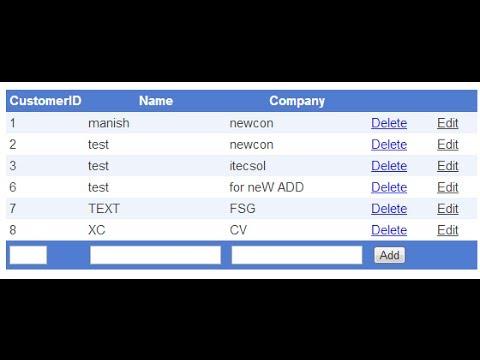 gridview insert update delete in aspnet