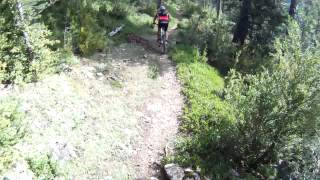 preview picture of video 'BTT Cerdanya - Sender Refugi del Gonec fins Pi'