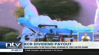 KCB Group Shareholders have approved an 11.1 billion shillings