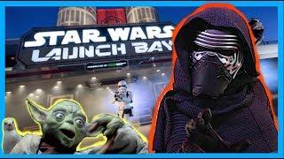 KYLO REN LOVES YODA'S SEAGULLS At Star Wars Launch Bay | Disney World Vlog