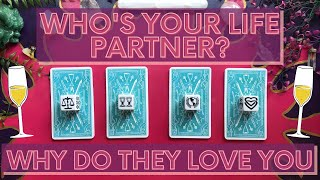 😍WHO + WHERE IS YOUR LIFE PARTNER?😍|🔮PICK A CARD🔮TAROT READING