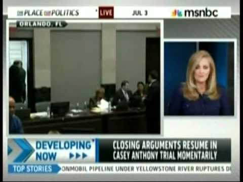 Meg Strickler on MSNBC discussing closing arguments in Casey Anthony trial July 3, 2011