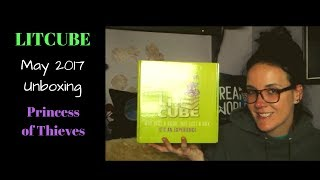 Litcube May 2017 Unboxing: Princess of Thieves