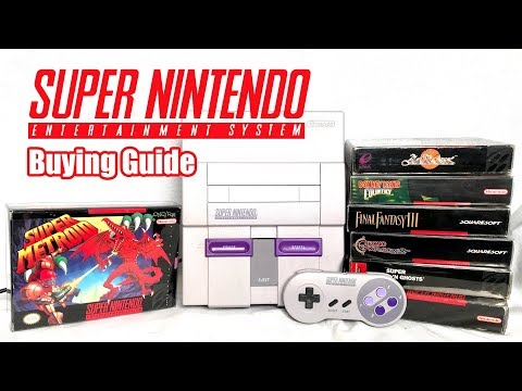 Super Nintendo (SNES) Buying Guide & Best Games!