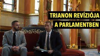 Toroczkai László: Trianon revízióját a parlament és az ENSZ elé visszük!
