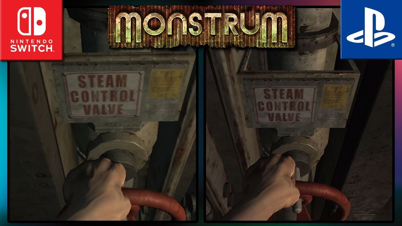 Monstrum | Switch VS PS4 | Trailer Graphics Comparisons