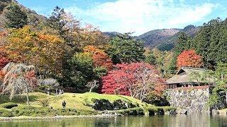 古峯神社と古峯園の紅葉/栃木県鹿沼市草久古峯ケ原